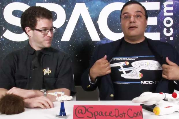 Space.com Talks 'Star Trek'! Movies, New TV Show and Favorites | Video