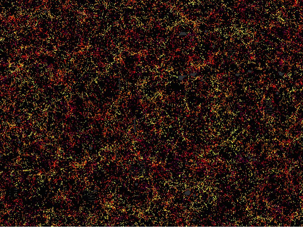1.2 Million Galaxies Dot Largest Ever 3D Map
