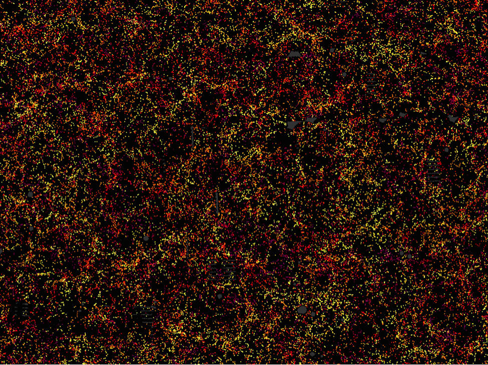 1.2 Million Galaxies Dot