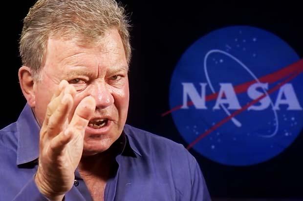 William Shatner Talks Science Fiction vs. Science Fact | Video