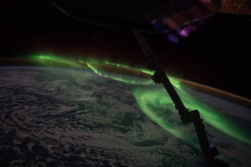Bright Australian Auroras