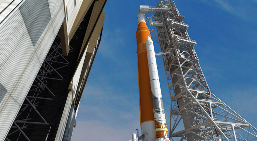 First Launch of NASA's New Megarocket On Track for 2018