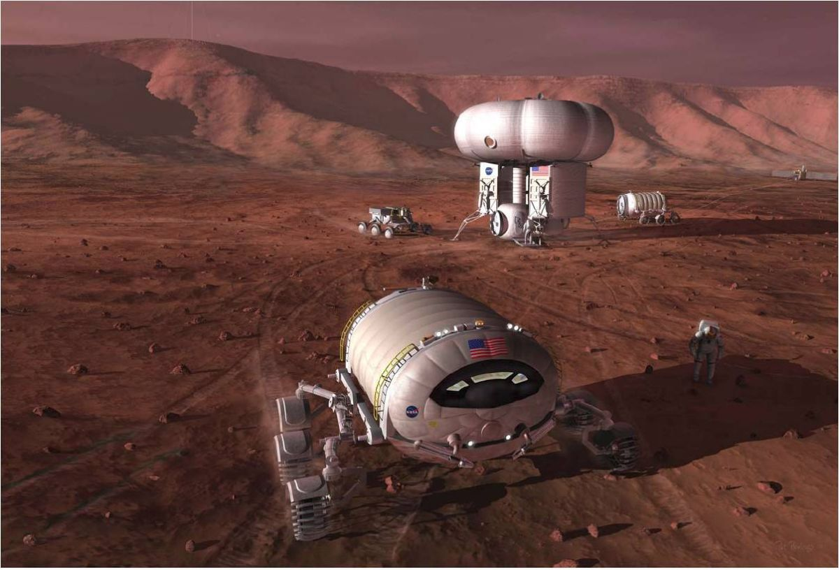 Mars Colonists Must 'Live Off the Land': NASA Report