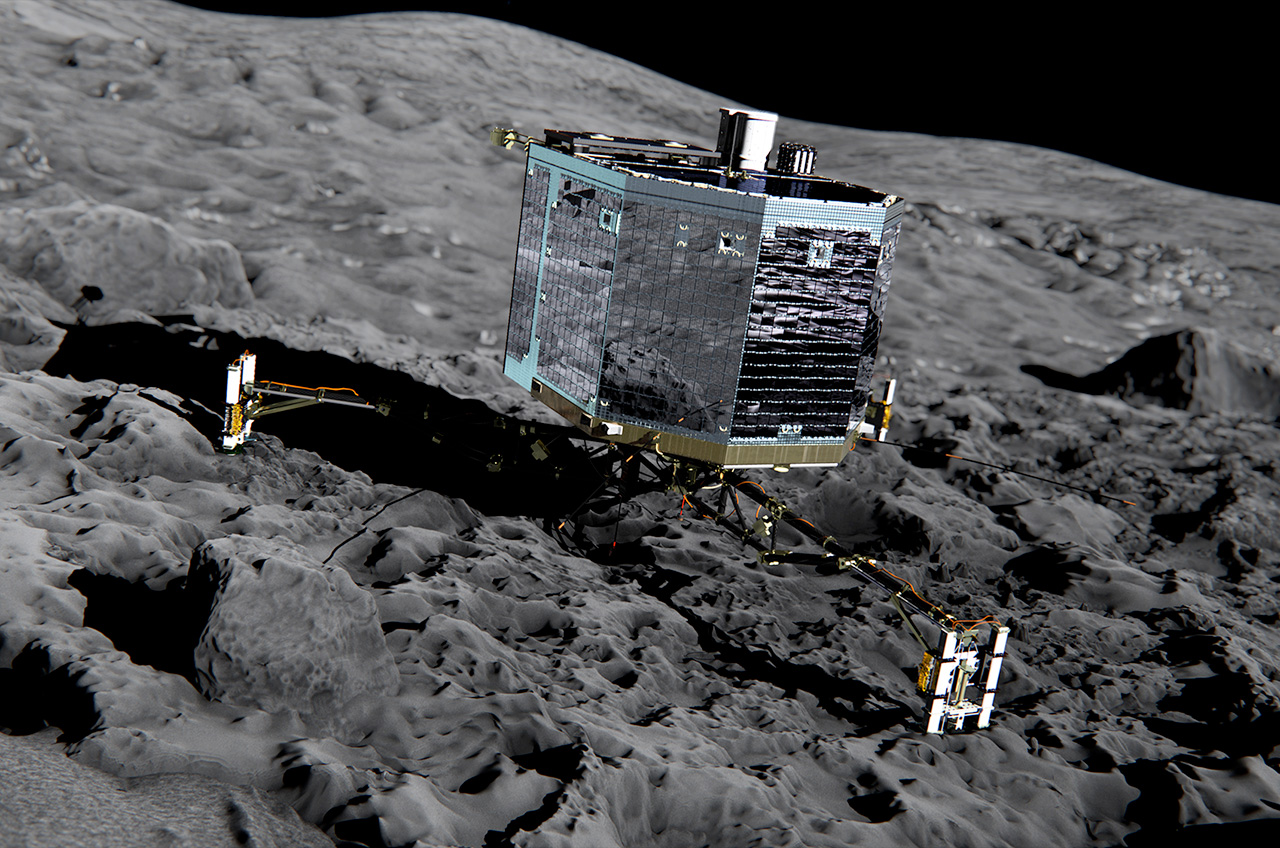 Goodbye Philae: Comet Lander Comm Link Switched Off