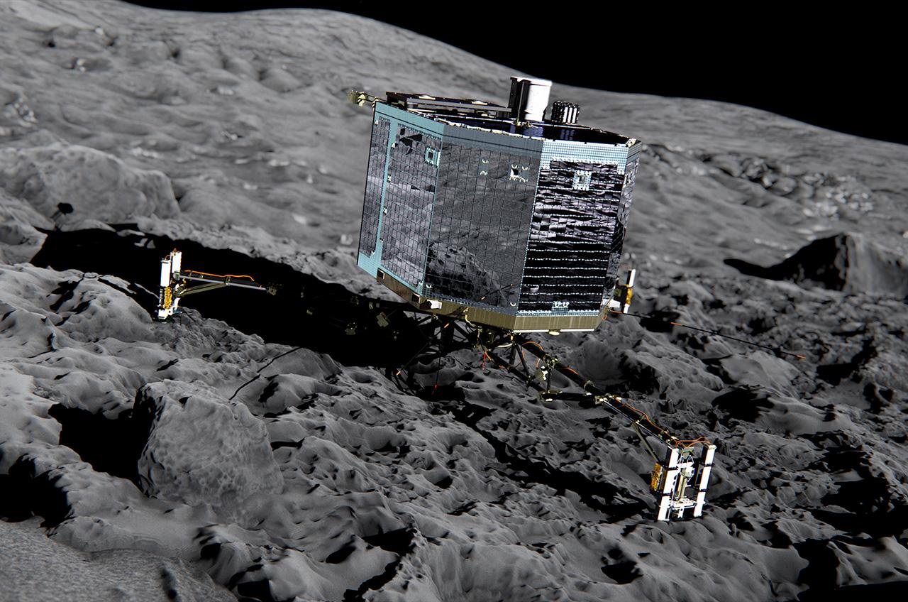Goodbye Philae: Comet Lander Comm Link Switched Off