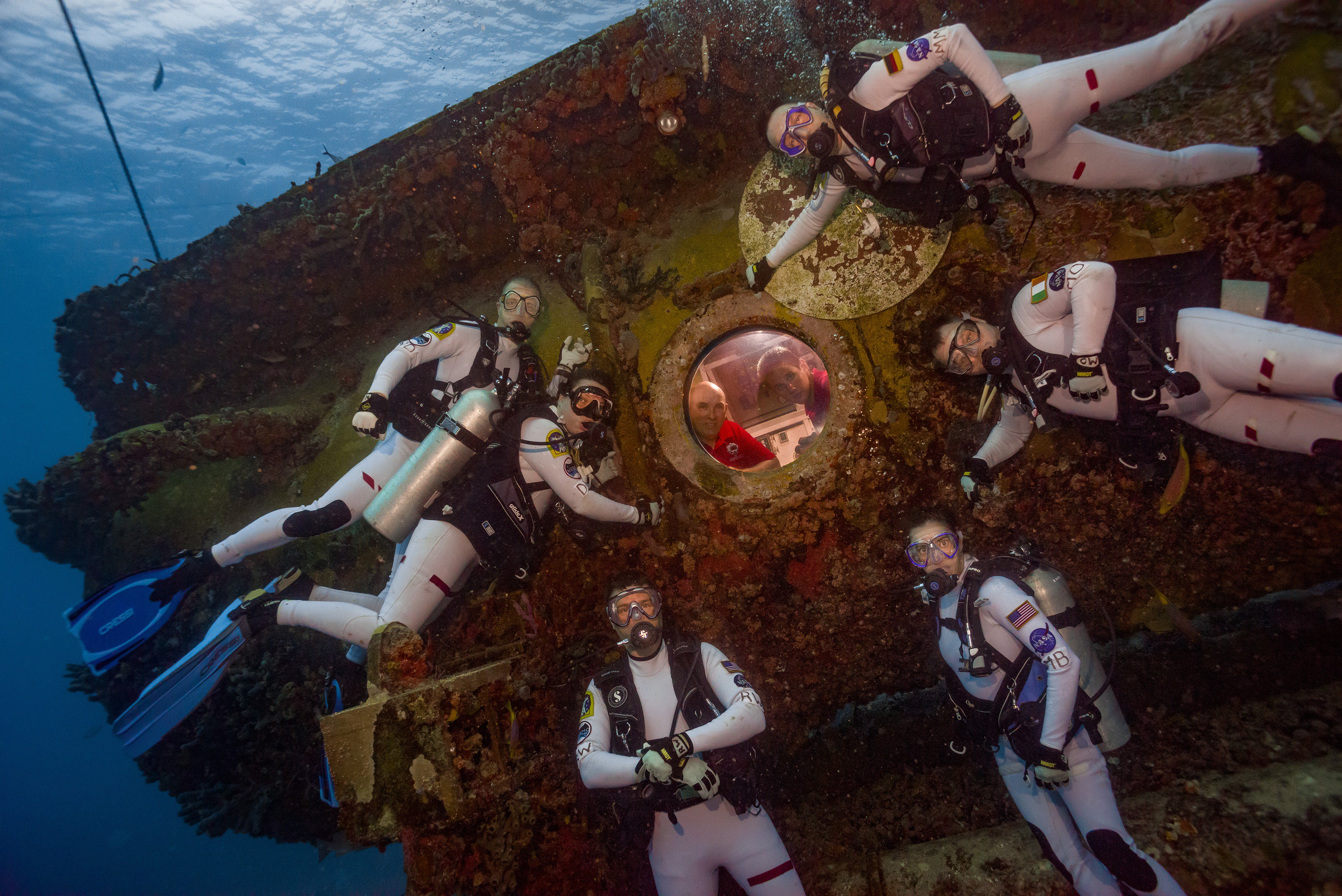 'Aquanauts' Study Space Living from Under the Sea