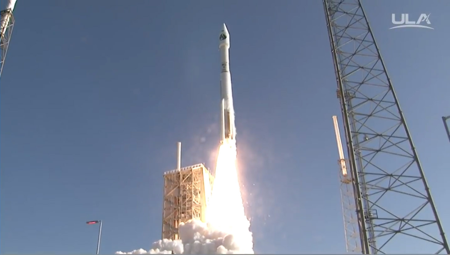 Launch Photos: Secret Spy Satellite NROL-61 Blasts Off On Atlas V Rocket