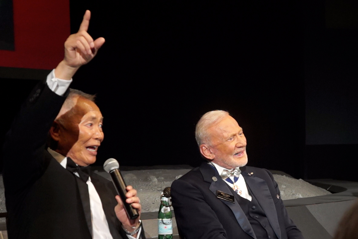 George Takei, William Shatner Help NASA Celebrate Apollo 11 Anniversary
