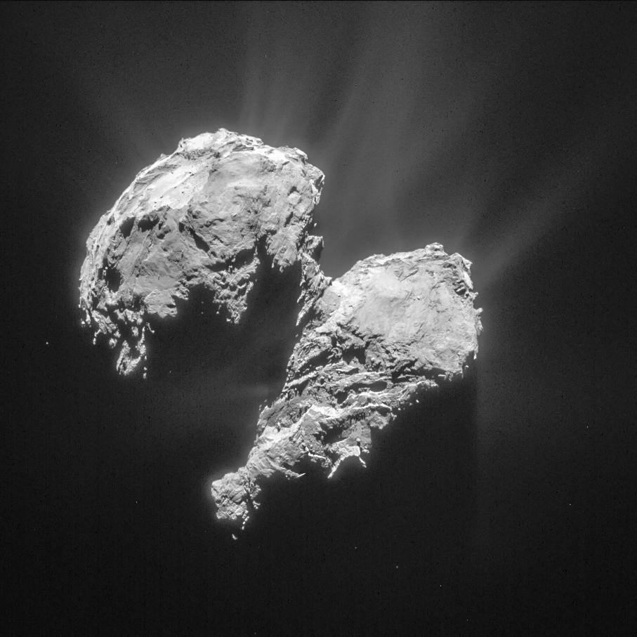 Comet 67(/Churyumov-Gerasimenko