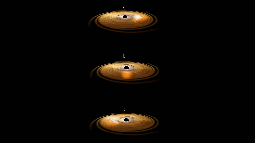 Mystery Solved: Black Holes Twist Space-Time Like Taffy
