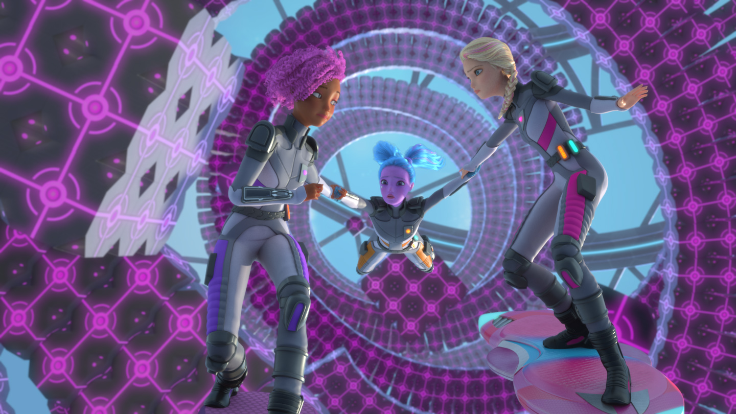 Barbie Goes Cosmic in 'Star Light Adventure' This Weekend