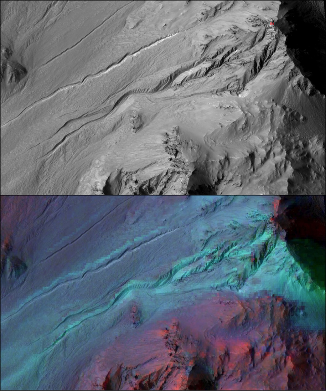 Gullies on Mars Likely Not Carved by Liquid Water, NASA Says