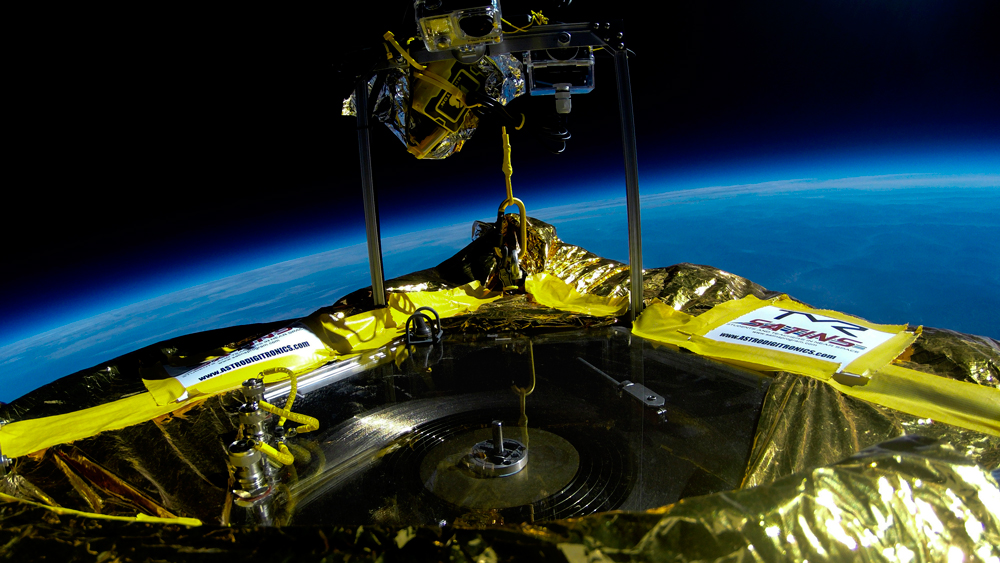 Jack White's Label Plays Record in Near Space