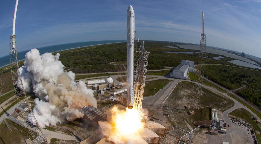 SpaceX's robotic Dragon cargo capsule