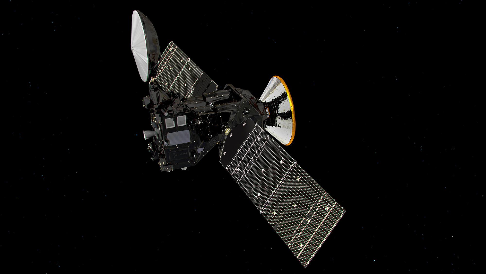 European Mars Probe Performs 1st Crucial Deep-Space Maneuver