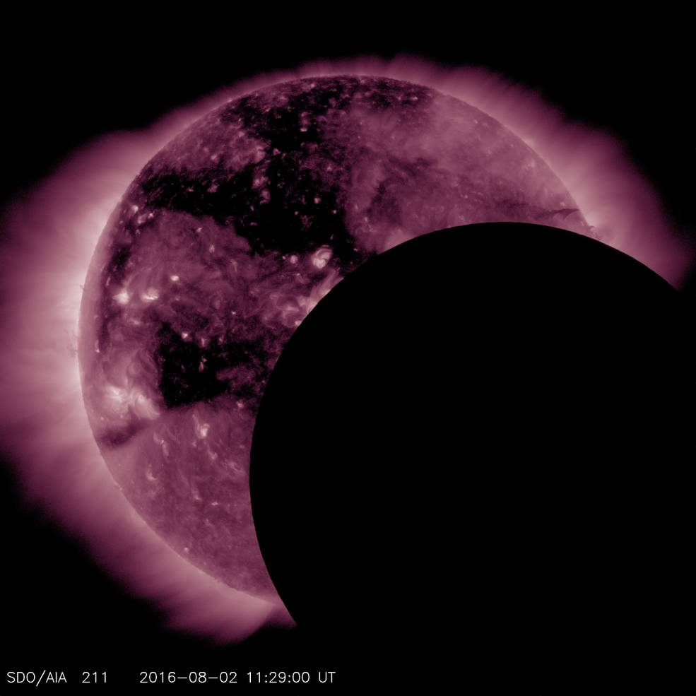 SDO Observes Eclipse, Suffers Hiccup