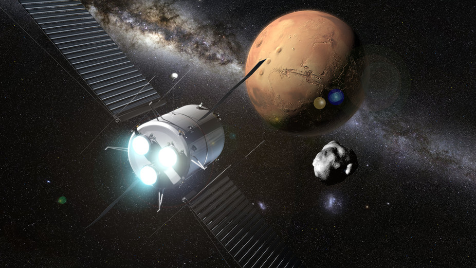 Plasma rocket to Mars conception