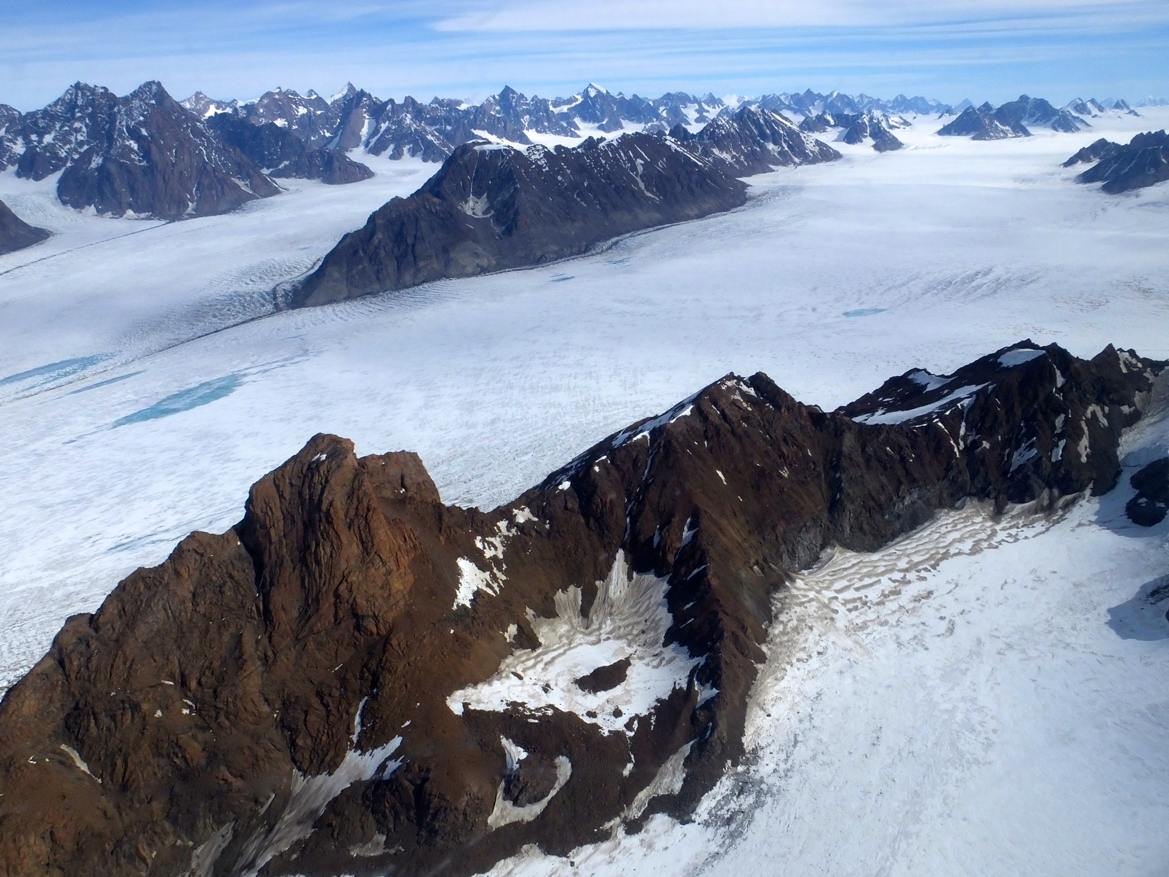 Vanishing Bottom-First: Map Reveals Thawing Areas Under Greenland