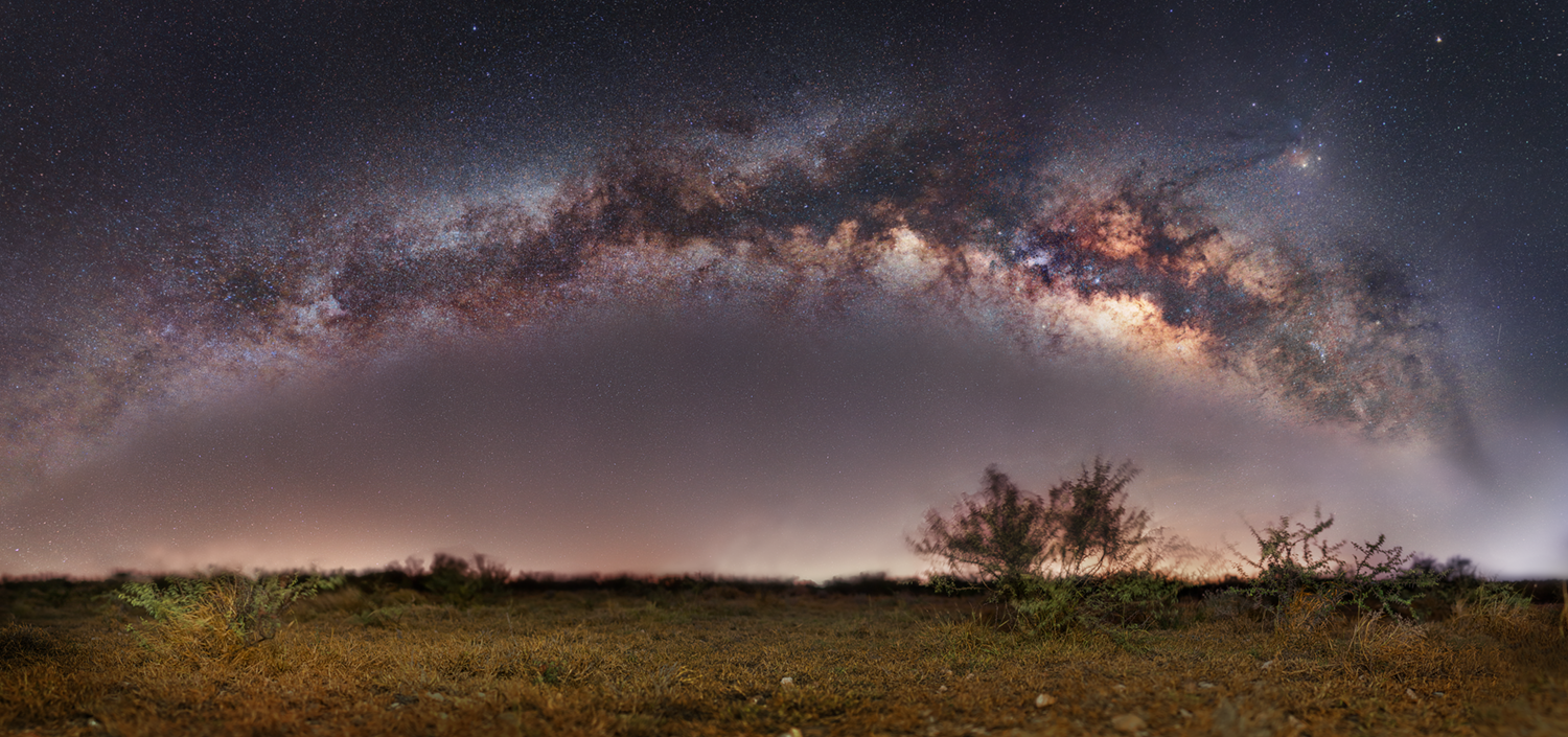 Milky Way Arch