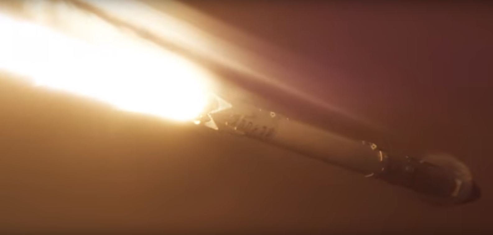 This SpaceX Nighttime Rocket Launch and Landing Video Is Simply Spectacular