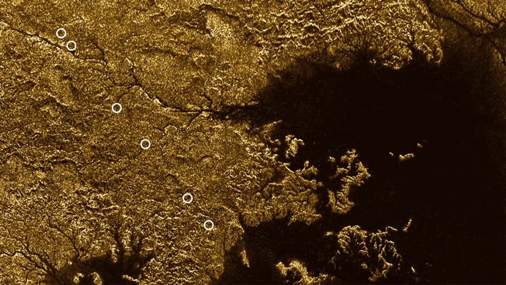 Deep, Flooded Canyons on Saturn Moon Titan