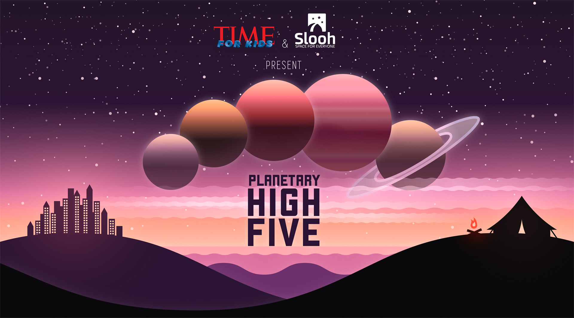 Live Webcast Helps Kids Spot Planetary 'High 5' Tonight: How to Watch