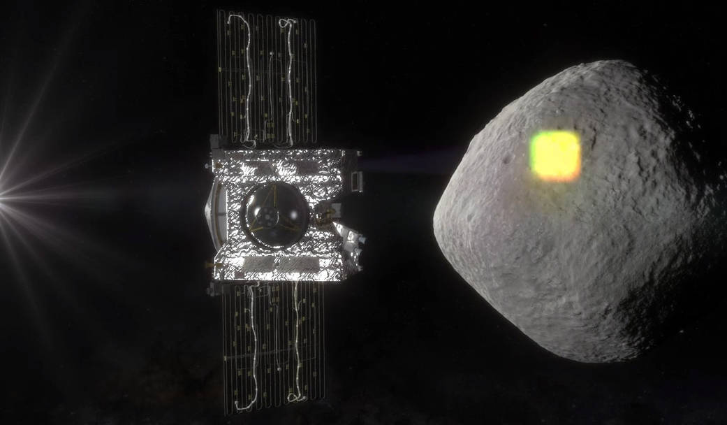 OSIRIS-Rex: Bringing Home Pieces of an Asteroid