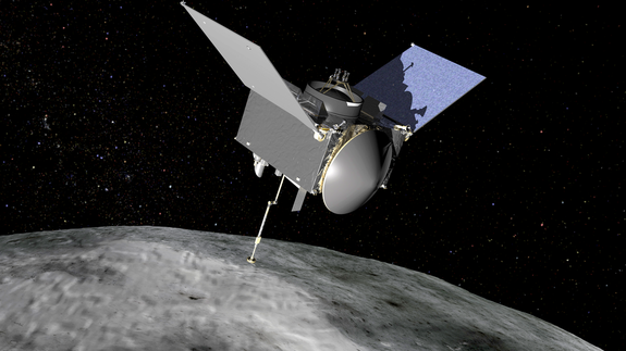 NASA's OSIRIS-Rex thought will spend 2 years mapping an asteroid before returning a representation to Earth.