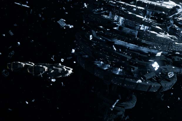 Regulus-12 Space Station Heavily Damaged In 'Dark Matter' Show Clip