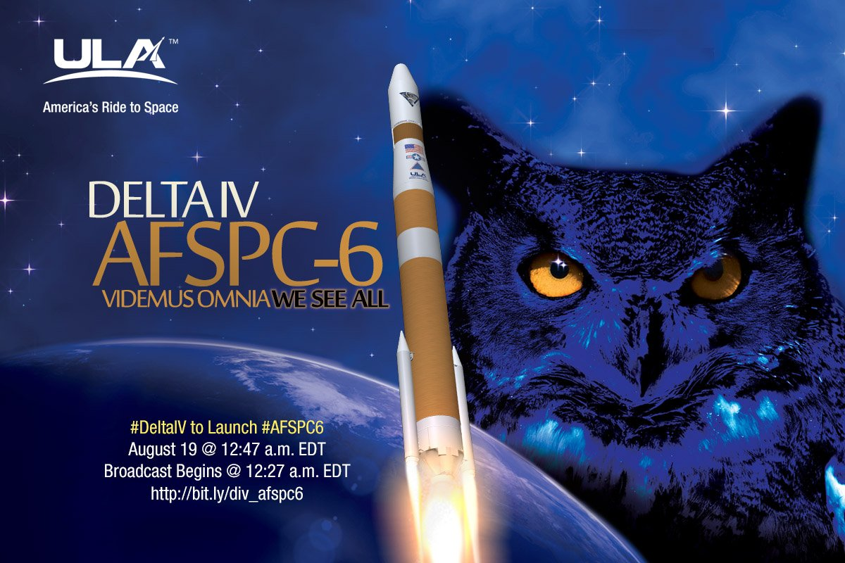 US Air Force to Launch 2 Military Surveillance Satellites Tonight: Watch Live