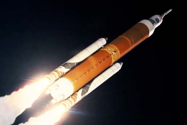 Space Launch System Rocket's FIrst Crew Launch Dramatized By NASA | Video