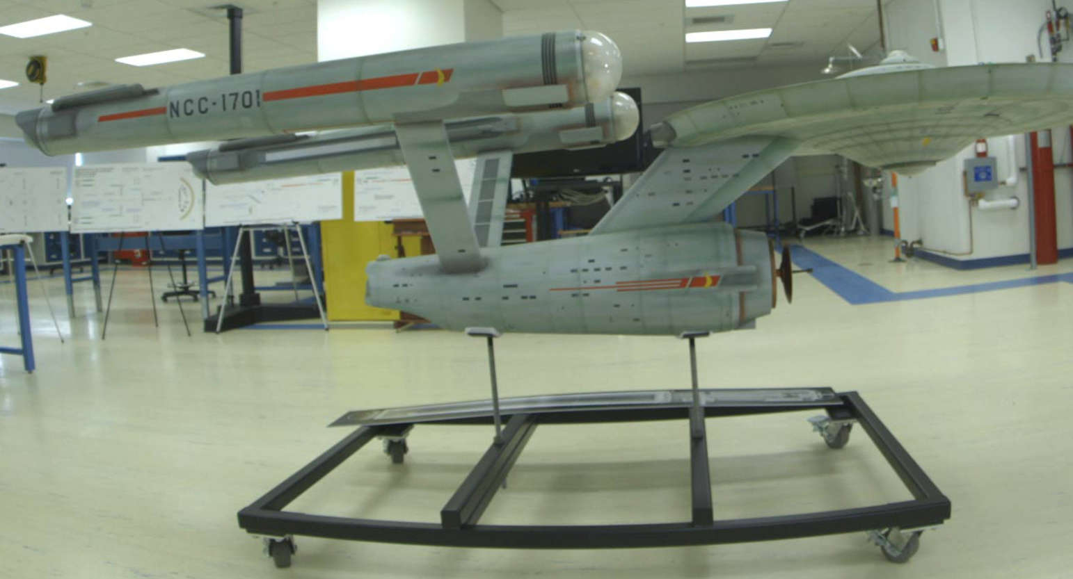 Original USS Enterprise model