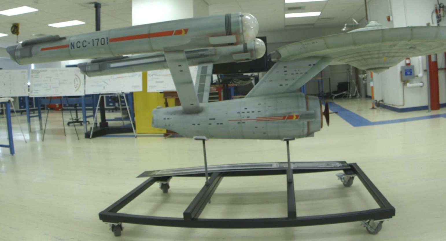 'Building Star Trek' Documentary Shows Efforts to Save Original Enterprise Model