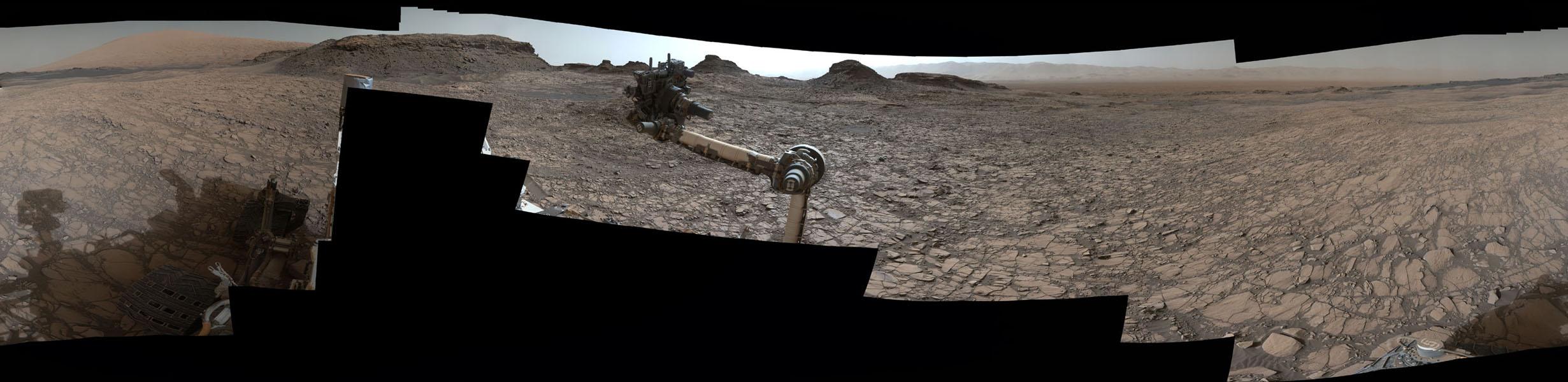 This Martian Landscape Looks Like the American Desert
