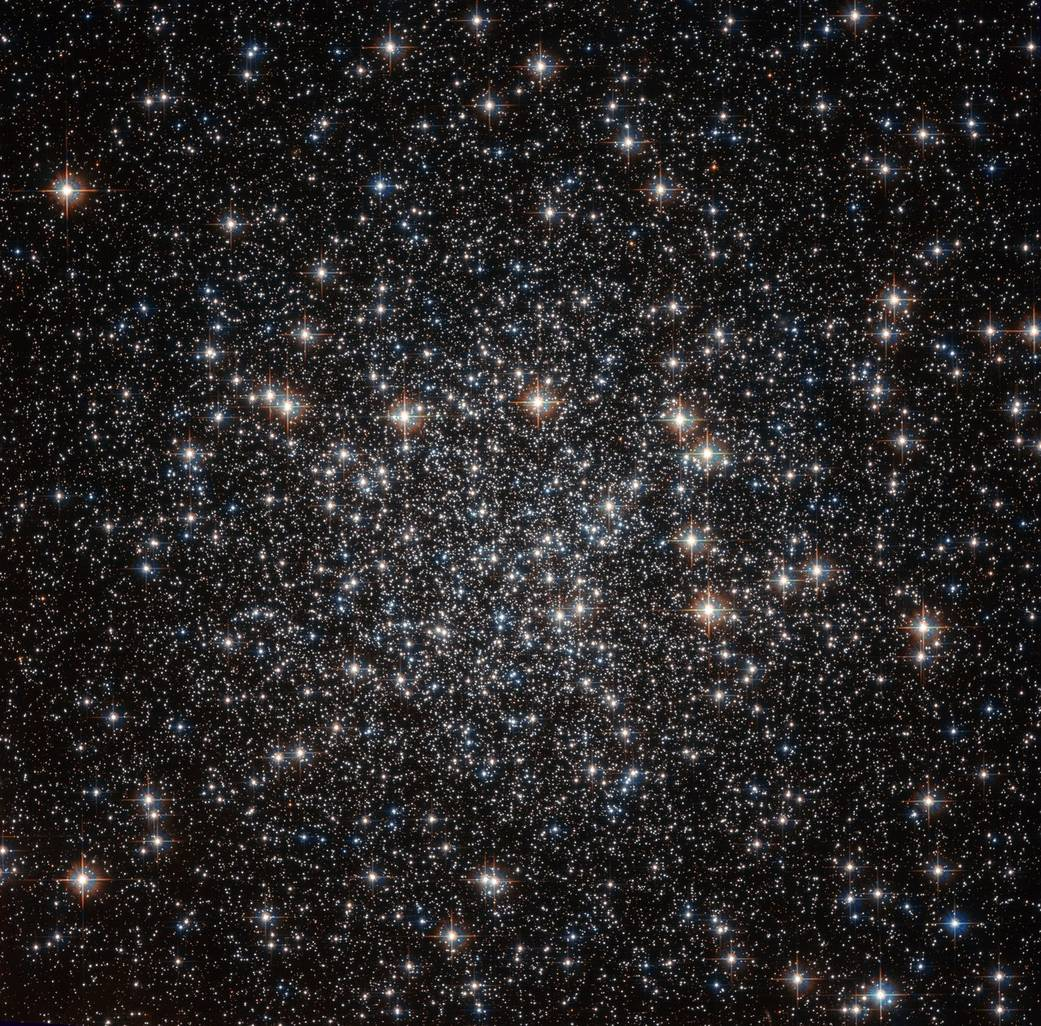 Starry Hubble View