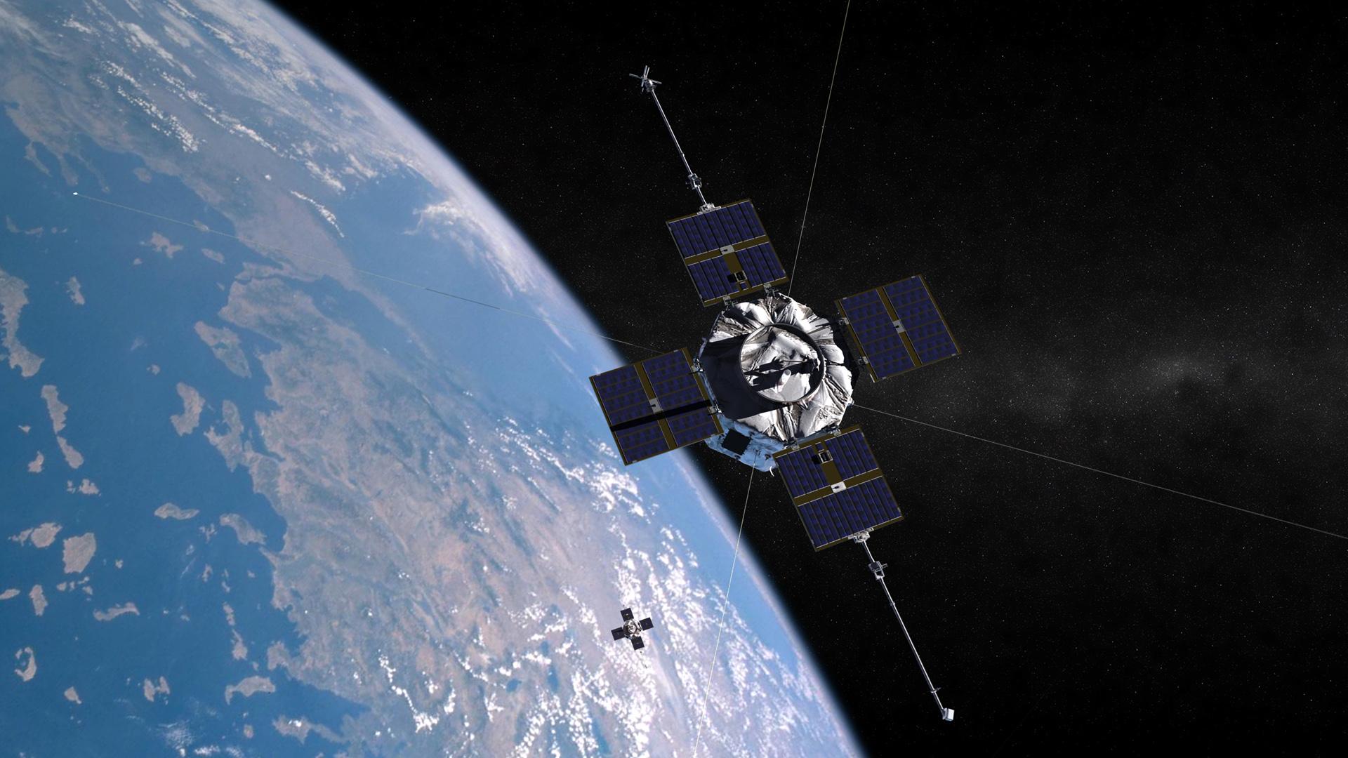 Probes in Orbit Spot Radiation Belt Zap from the Sun