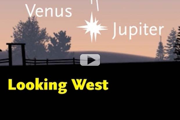 Venus-Jupiter Conjunction In August 2016 - Where To Look | Video
