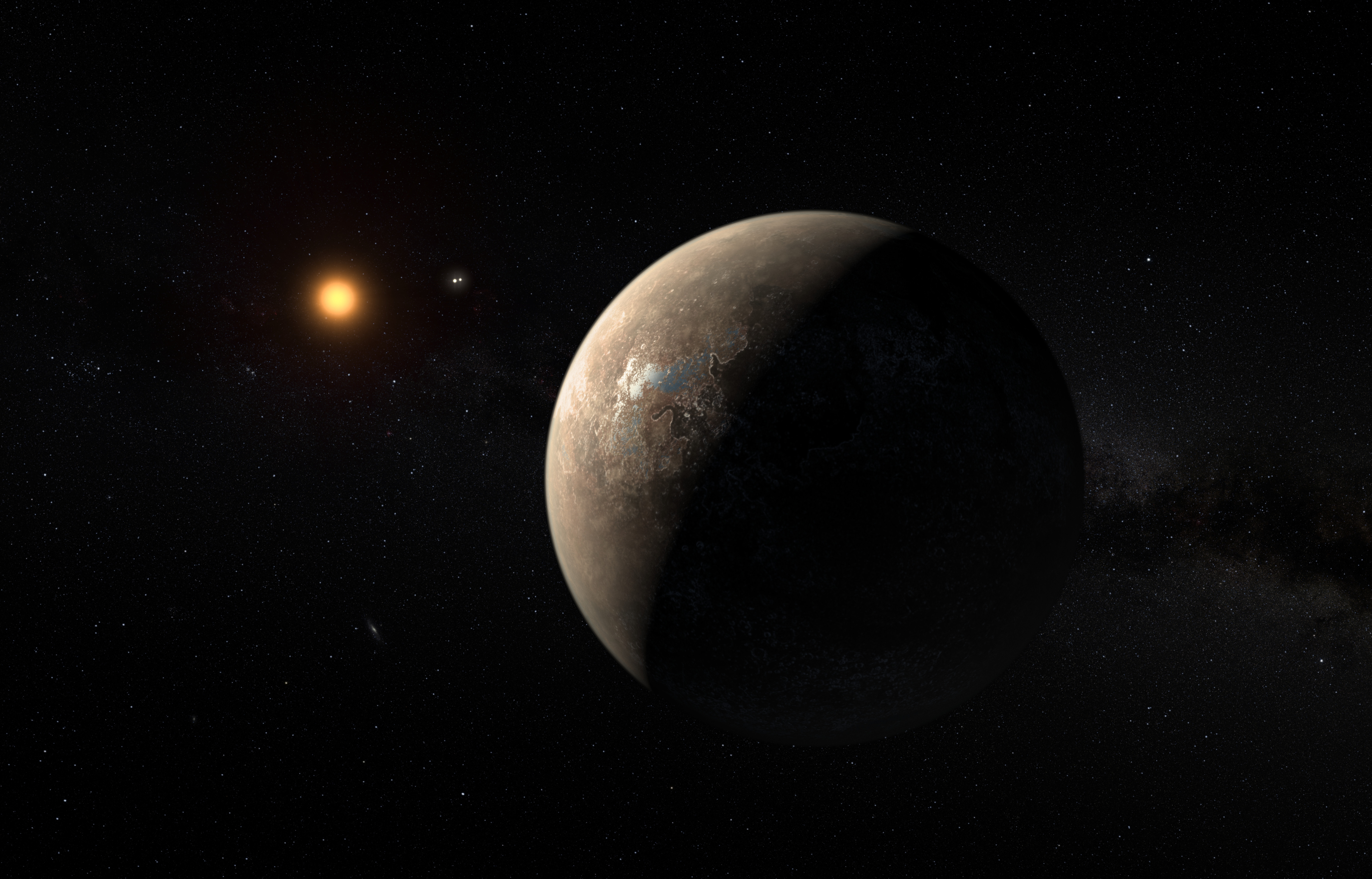Found! Potentially Earth-Like Planet at Proxima Centauri Is Closest Ever