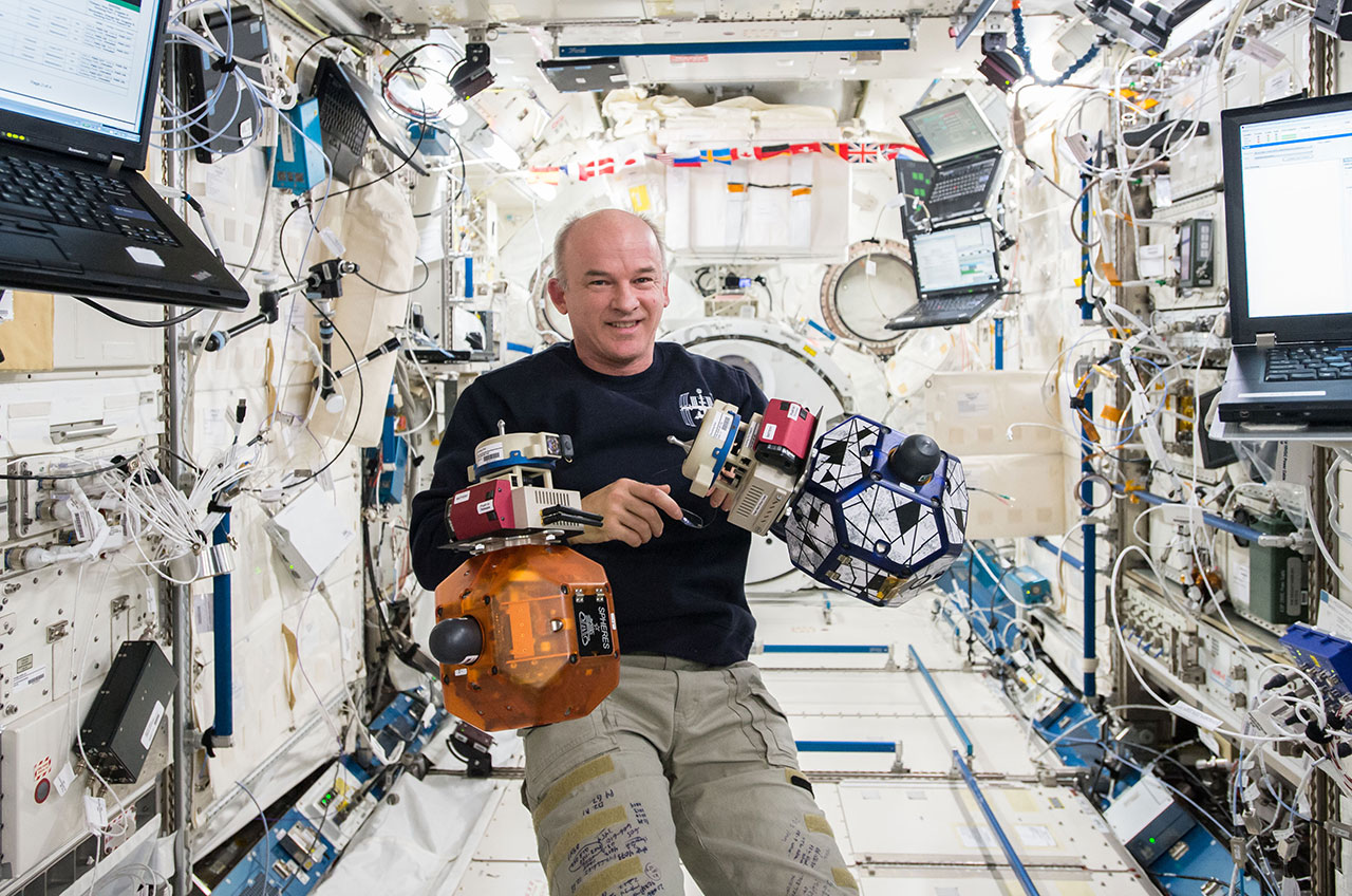 Jeff Williams on ISS