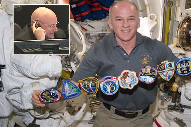 Record-Breaking Astronaut Jeff Williams Congratulated By Scott Kelly | Video