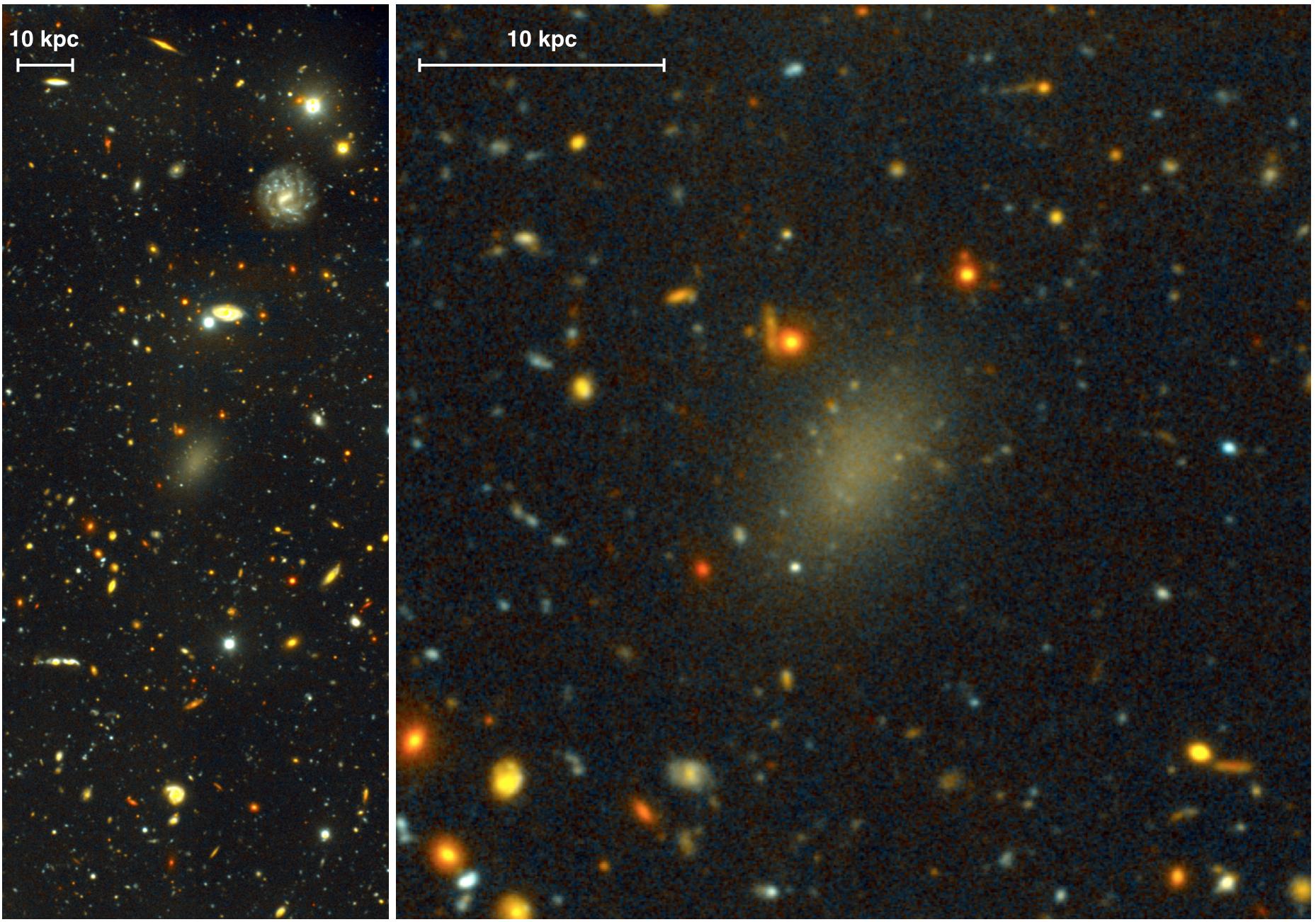 This Weird Galaxy Is Actually 99.99 Percent Dark Matter