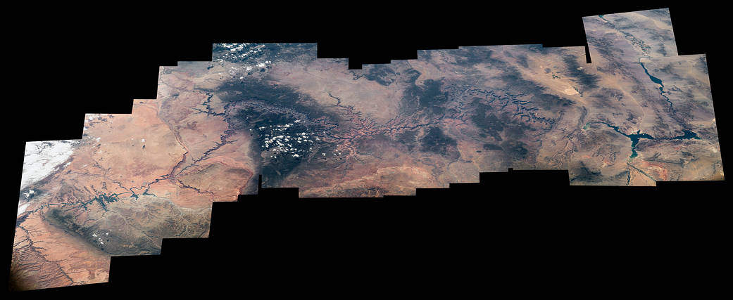 Astronaut Celebrates 100 Years of US National Parks...from Space (Photos)