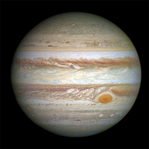 17. Jupiter has more heavy elements (proportionally) than the sun