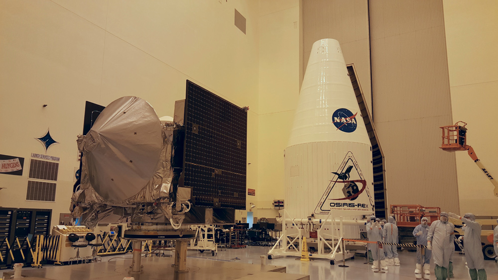 In the Clean Room: Up-Close Look at NASA's Asteroid-Sampling Probe OSIRIS-REx