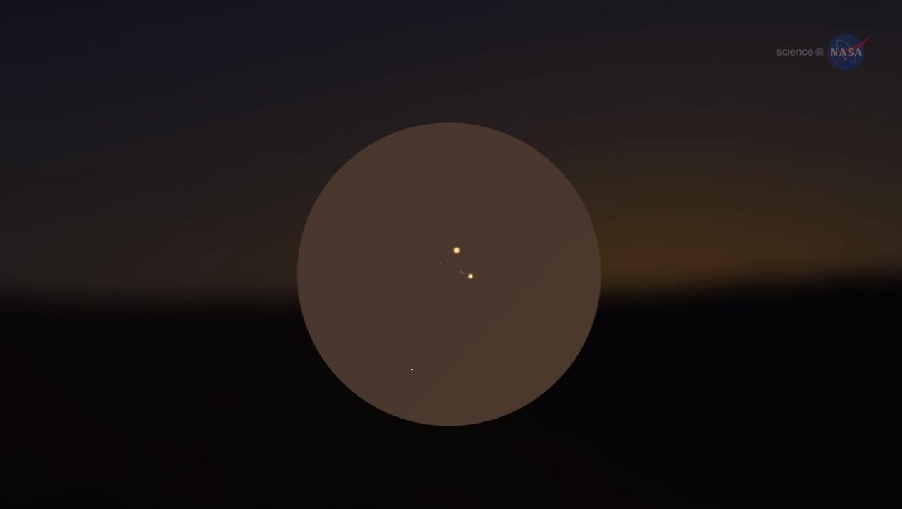 Saturday's Venus-Jupiter Encounter May Explain Bible's Star of Bethlehem
