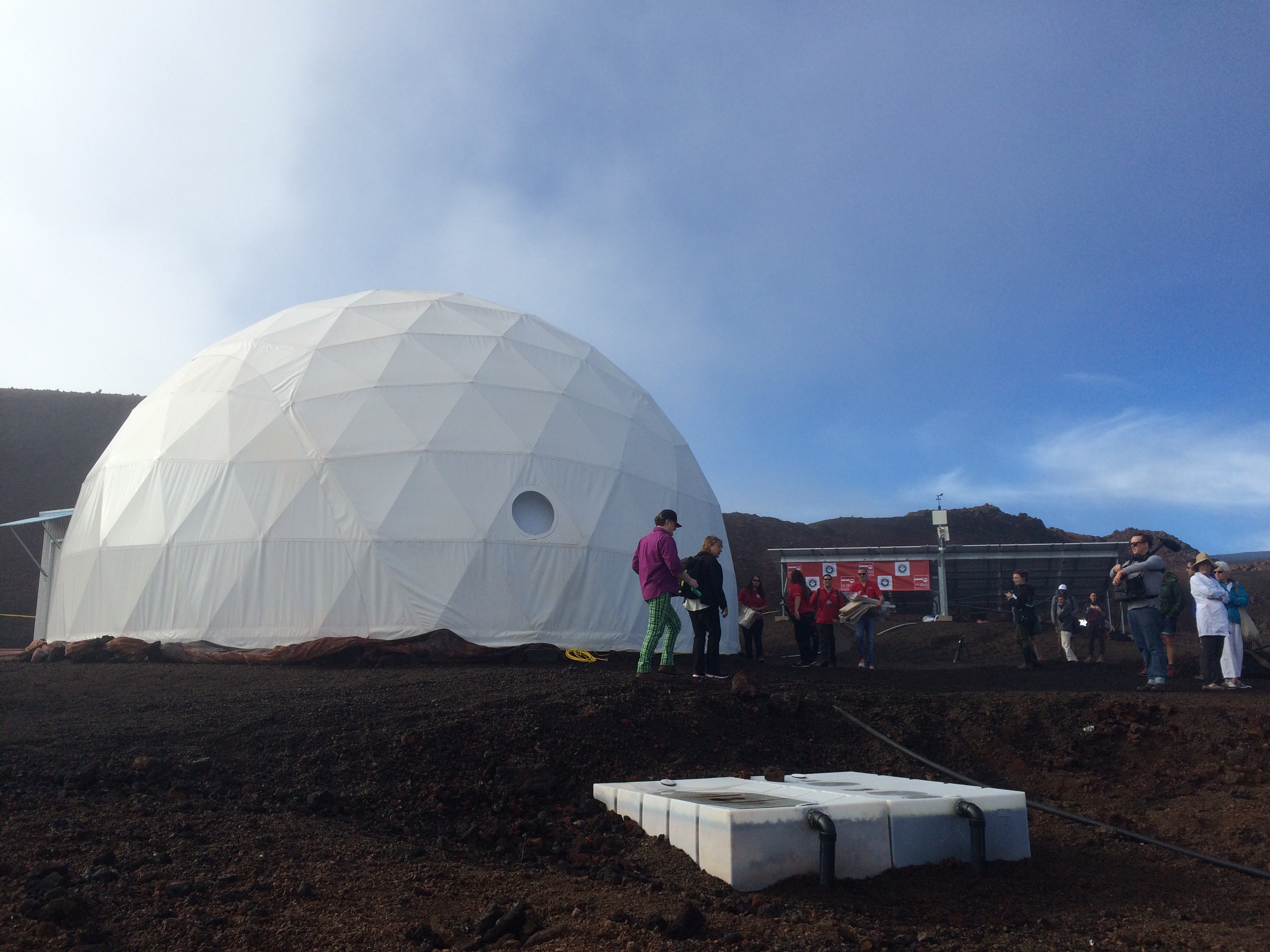 The dome used by the HI-SEAS program for crew isolation missions.