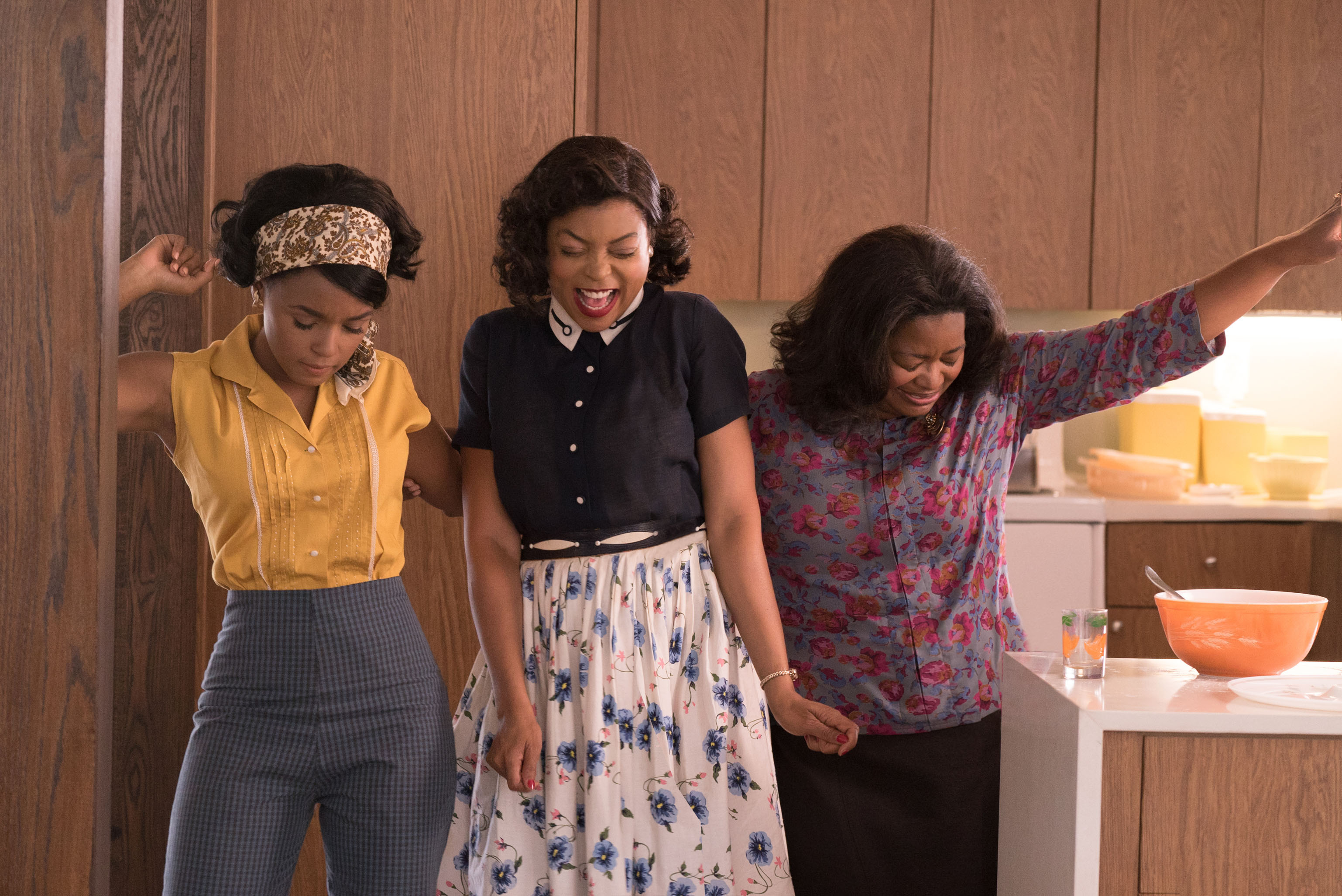 Mary Jackson, Katherine Johnson and Dorothy Vaughan