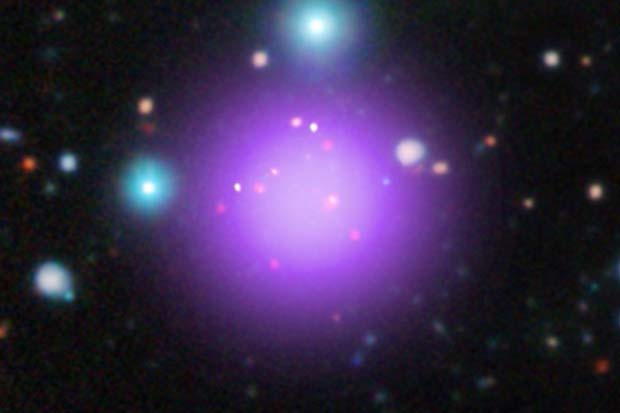 Galaxy Cluster Discovered Over 11 Billion Light Years Away   Video