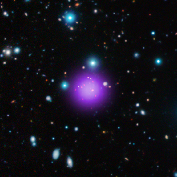 Nasa spots most distant galaxy cluster ever seen