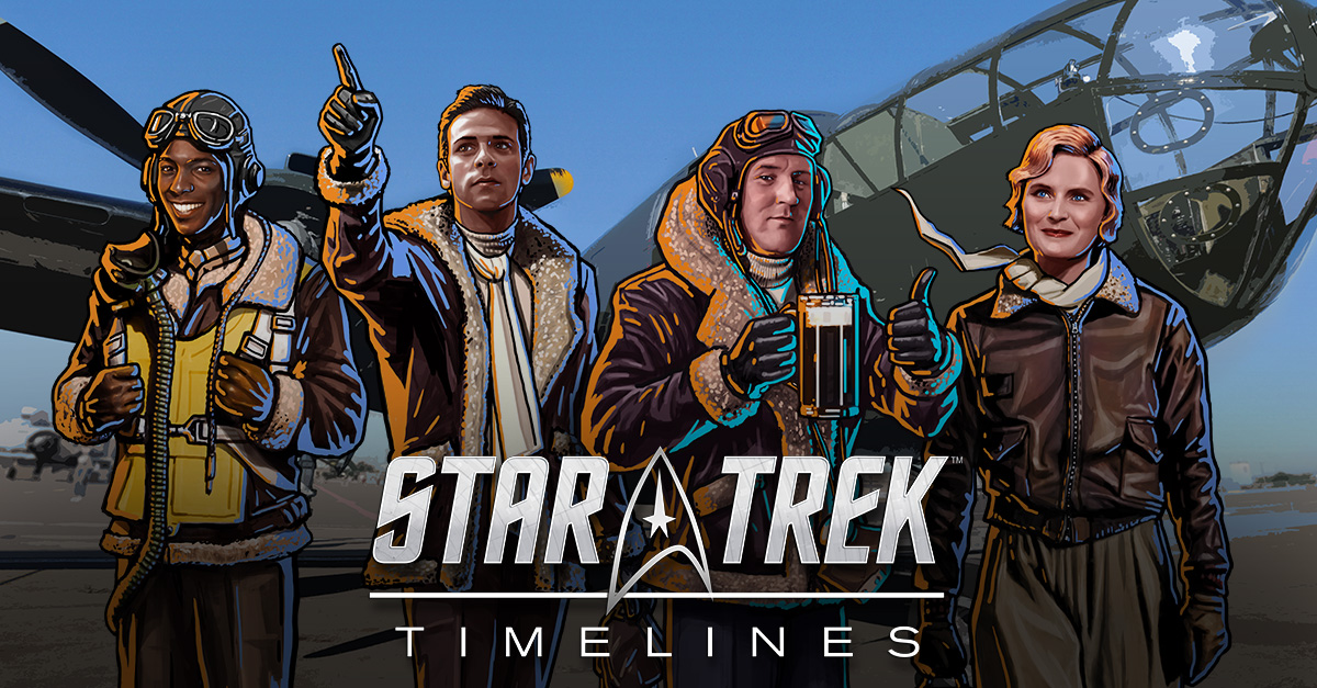 Kirk or Picard? 'Star Trek Timelines' Lets You Play As Both